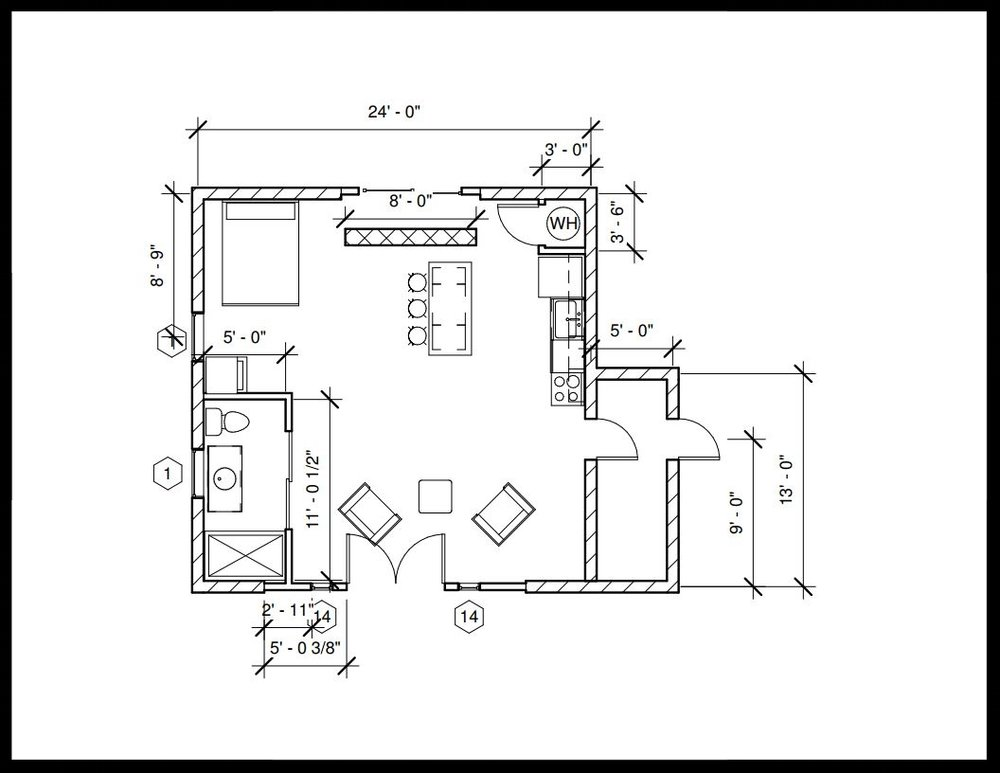 The Lucy, First floor plan view