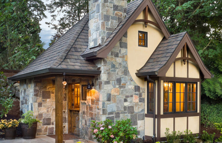 An example of a beautiful Tiny Home intended for Aging in Place -- accessible outdoor beauty is always a must and it's something to behold here.