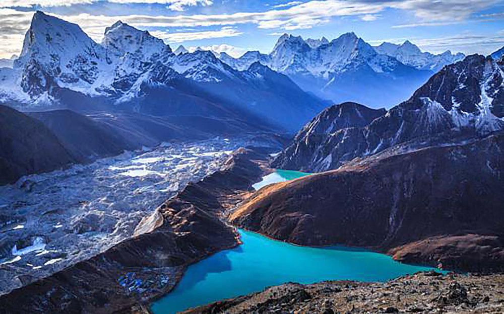 THE GOKYO LAKES -