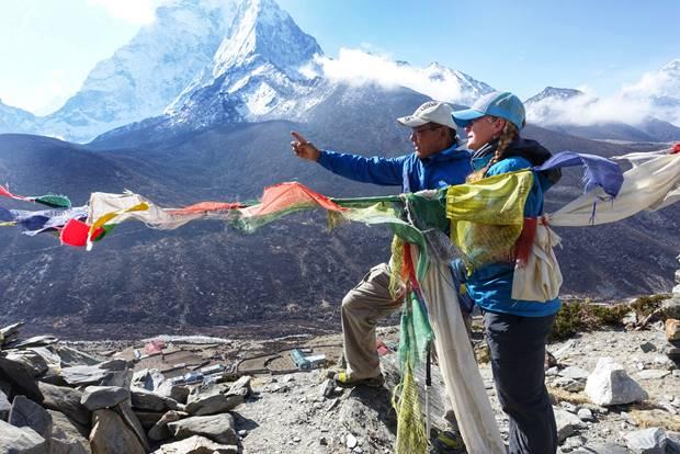 Tshering and Bri Gallo