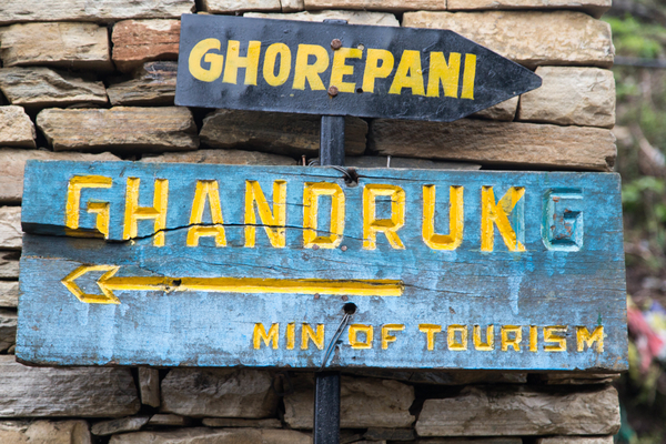 Annapurna Route Direction