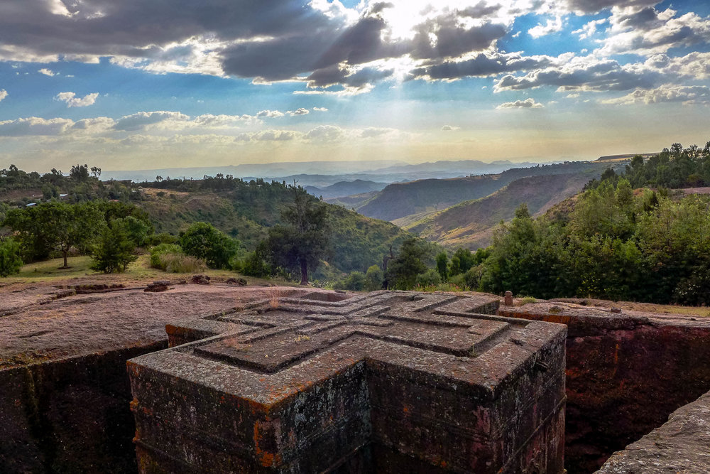 Lalibela rock-cut monolithic church
