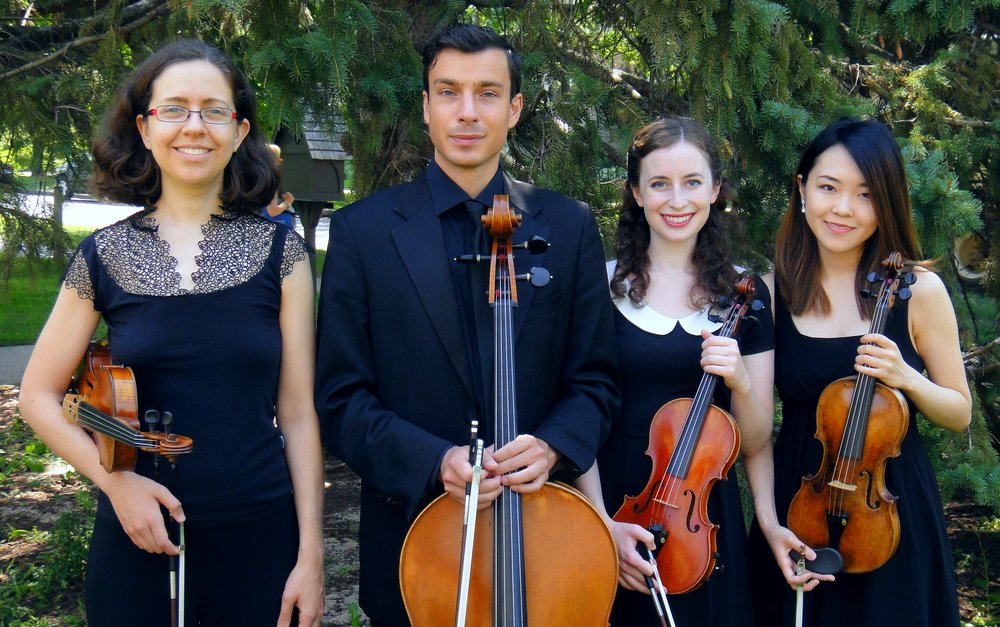 The SPCM String Quartet in Residence