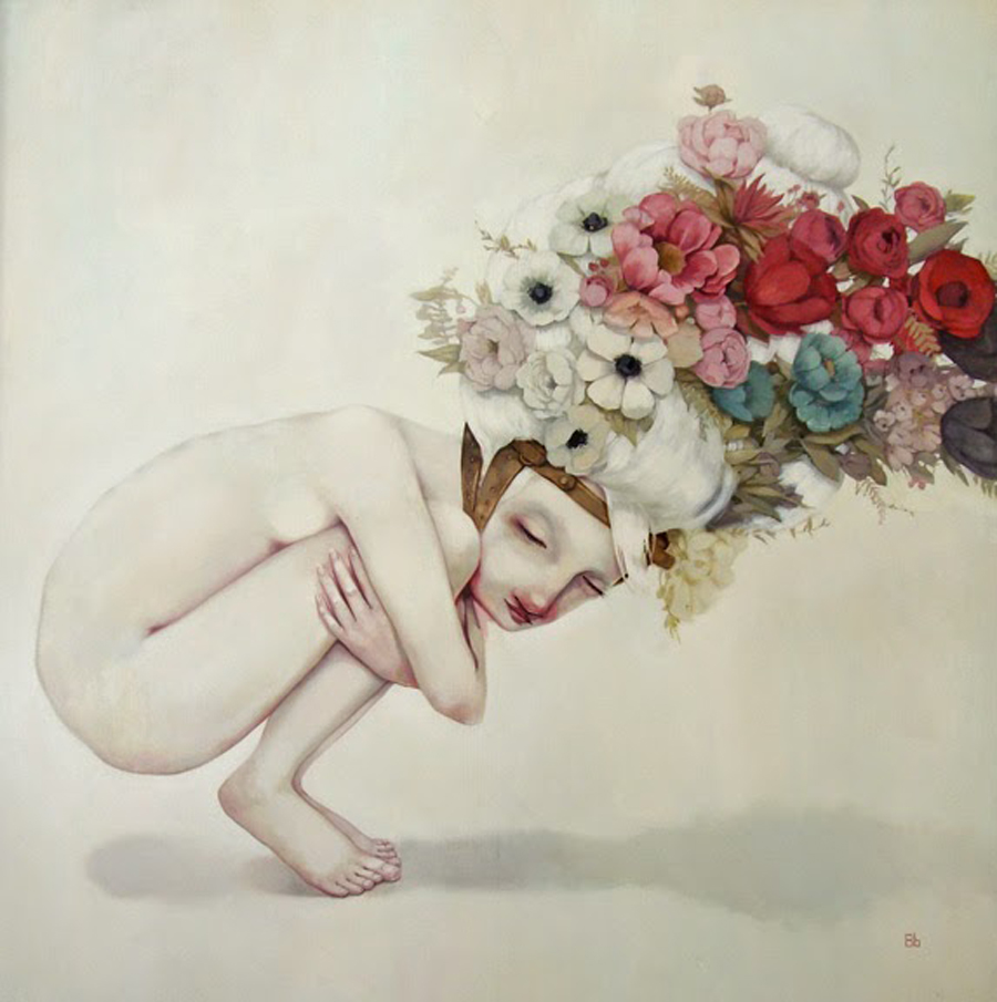 "Beth Bojarski | A Pretty Burden | Limited Series Giclee Print Approx 18""x18"" | $500"
