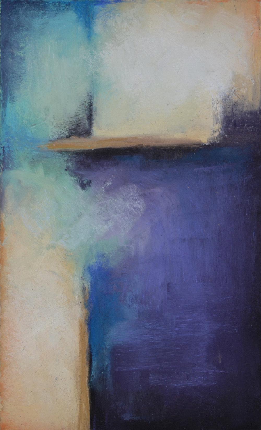 Kendall Kunzler Lensch | Royal Attitude | Pastel on Paper