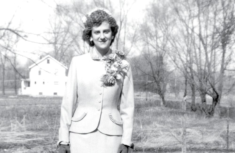My grandma, Barb Bauer 1950's