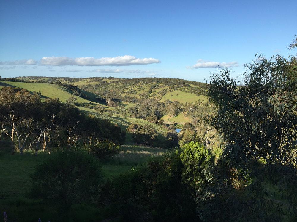 Outside Adelaide, South Australia.