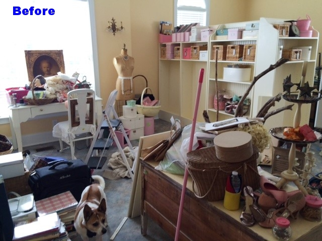 Large vintage craft room