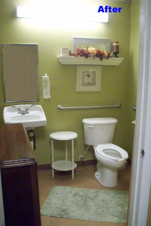 Store bathroom