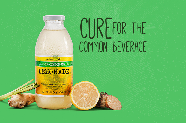 GINGER-LEMONGRASS LEMONADE  - Subtle flavors of ginger and lemongrass mix with Fair Trade cane juice to alleviate the boredom in any glass. Try a bottle of this award-winning beverage and call us in the morning.PRODUCT DETAILS