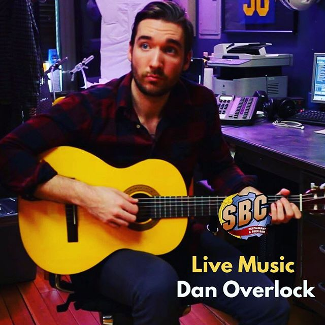 Dan Overlock tonight at 8pm! Come down for some fresh craft beer and live music.  #livemusic #acoustic #downtownmilford #sbcyahere