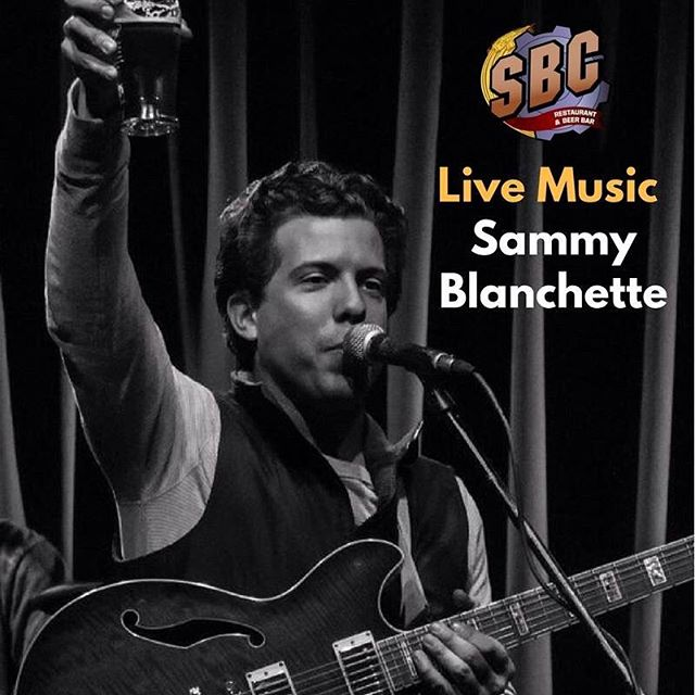 Sammy Blanchette live acoustic tonight starting at 8pm!! #livemusic #craftbeer #thirstythursday #acoustic #milfordct