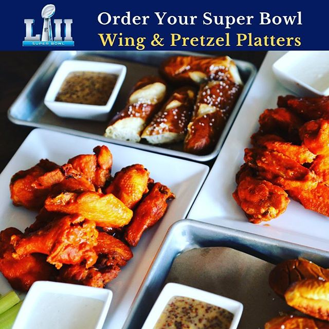 Having a Super Bowl party?  Order wing and pretzel platters from us, multiple wing flavors to choose from!  Call us at (203) 874-2337 to order. #superbowl #superbowlwings #superbowlparty #madflavors