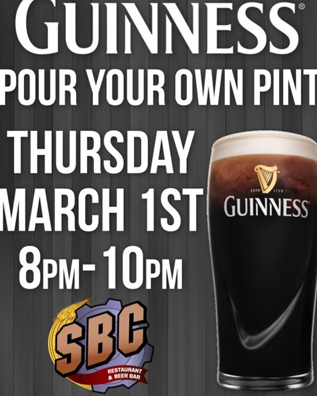 This Thursday—Learn how to pour the perfect pint of Guinness! Enjoy your beer then keep the glass when you're done!🍻 Pair your beer with some awesome food and live music from @passingstrangeband #guinness #greatfood #greatbeer #passingstrange #livemusic #pouryourownbeer #ctfood #cteatsout #ctdrinksbeer #comedown #fun #cantwait #music #thursday #seeyouthen