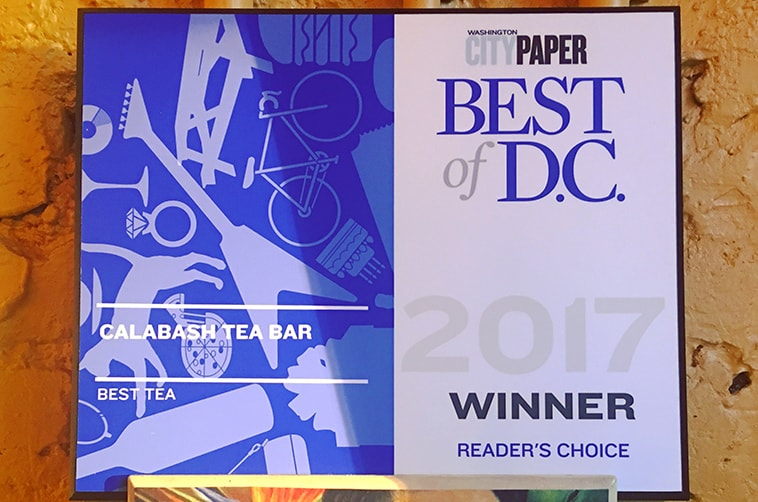 Best of DC - Washington City Paper - The DC community has spoken... We've been awarded DC's best Tea shop 5 years in a row. We love you too, DC!