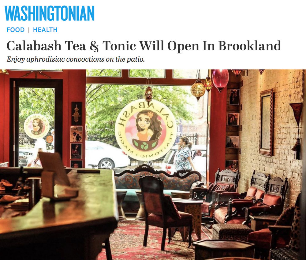 Washingtonian - Calabash Opening in Brookland this spring - Washingtonian interviewed us about the new shop in Brookland. Read what they have to say.