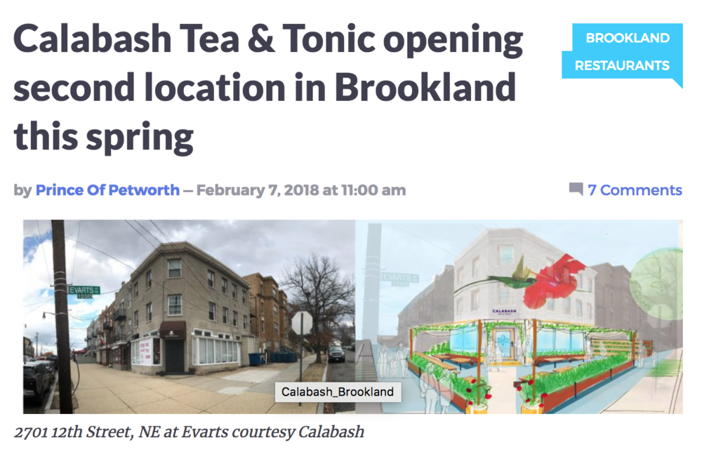 Popville - Healing Bar coming to Brookland - Read what the Prince of Petworth says about our new location announcement.