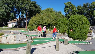 Mini Golf Outing
