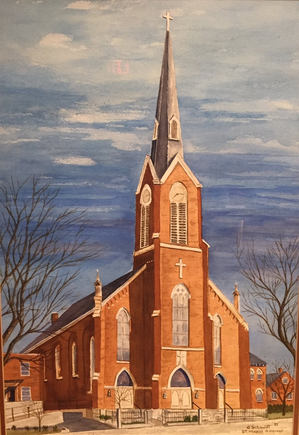St. Mary Church Painting George Schmidt.jpg