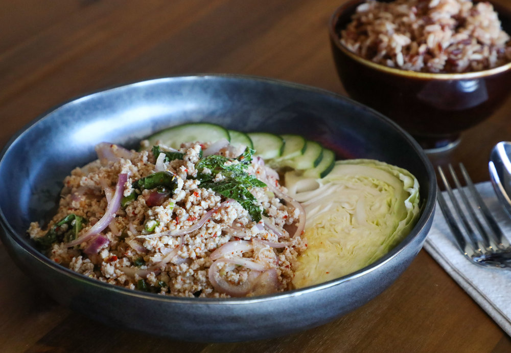 Minced Pork Larb