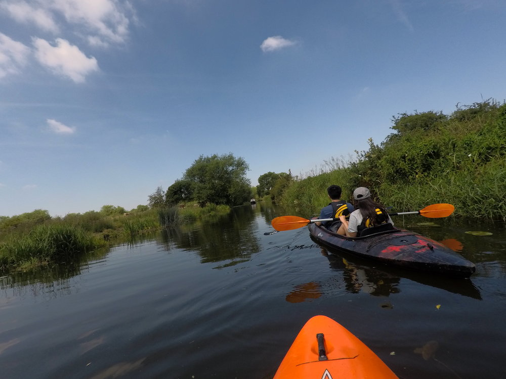 """My husband and I did the kayaking and picnic day and were not disappointed"" - - Liz Smith, Leicester"