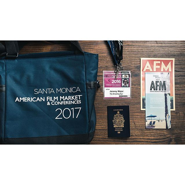 We're off to Santa Monica for the @americanfilmmarket!! ✈️🎬 This is our 4th year attending, and each year it gets better! We'll be shopping around our slate of projects. Stay tuned for updates! And if you're in town, give us a shout!
