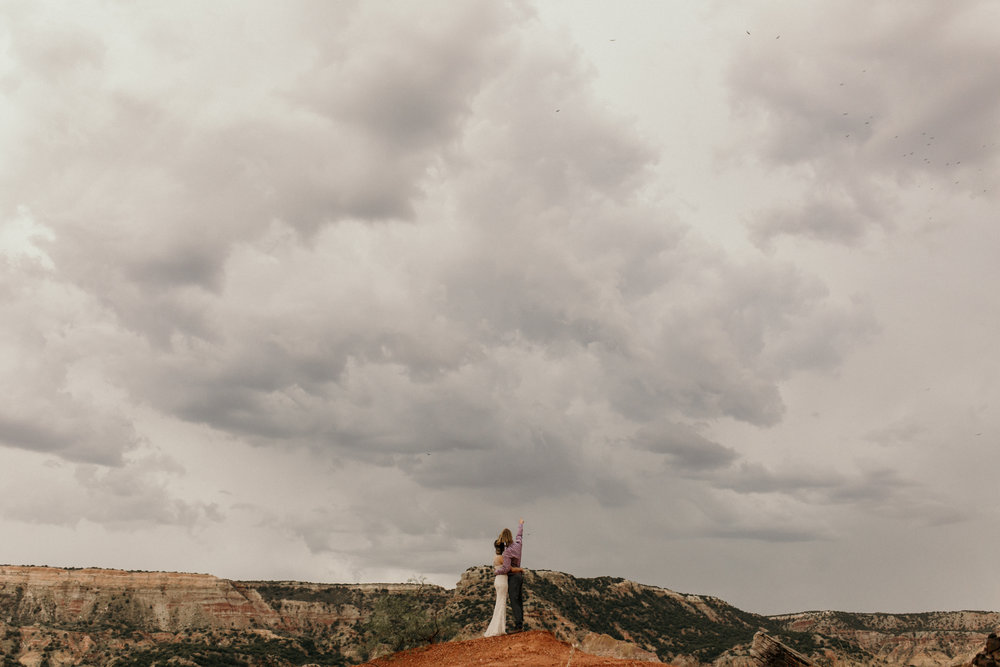 amarillo palo duro canyon wedding engagement photographer