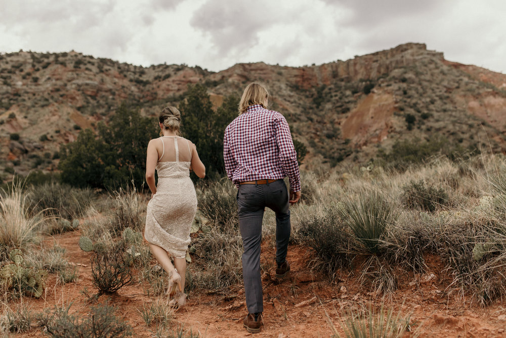 amarillo wedding engagement palo duro canyon photographer