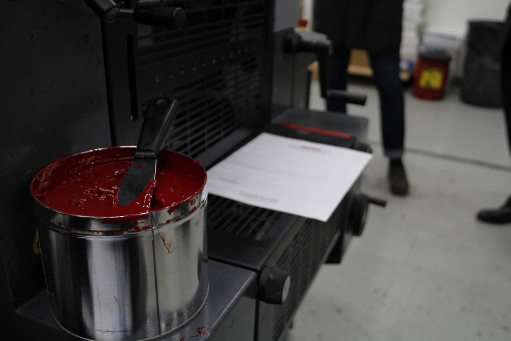 Red Ink Canister. Photo: Carly Hagins