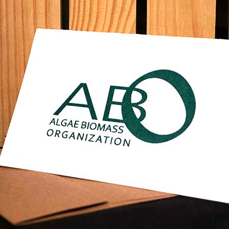 Letters for ABO printed with Algae Ink™
