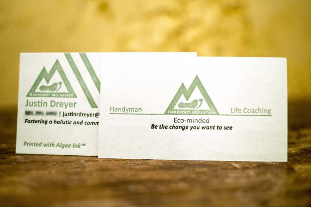 Delux Business Cards - Our in house premium paper2 color process1 or 2 sided cardStandard 3.5x2