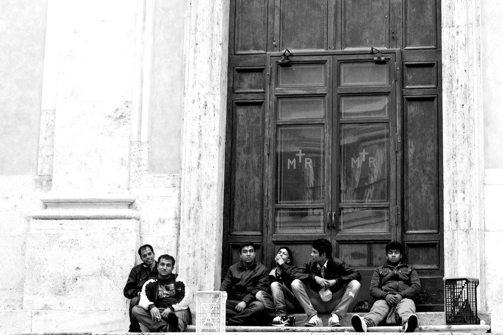 Rome Steps BW 2012.jpg