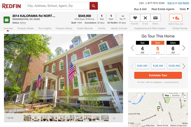 Redfin Google Predictive Maps