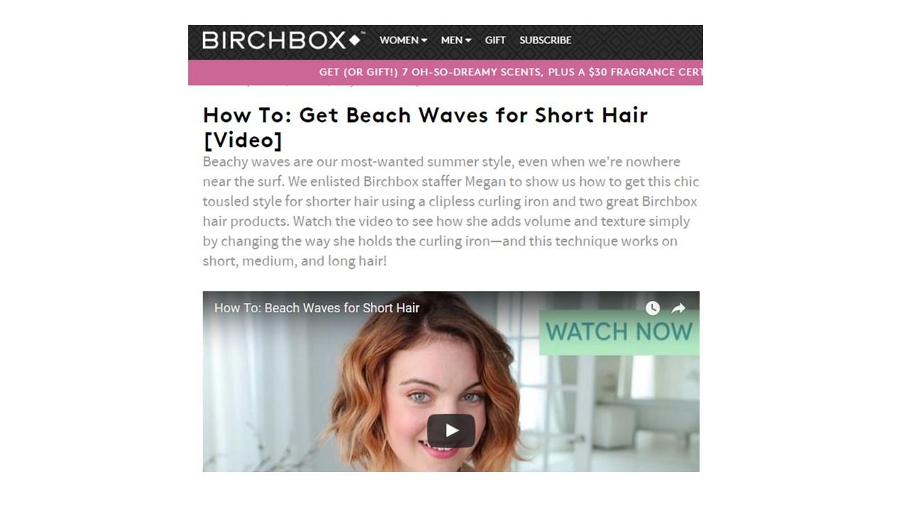 Birchbox Visual