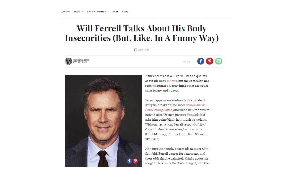 Will Ferrel Example