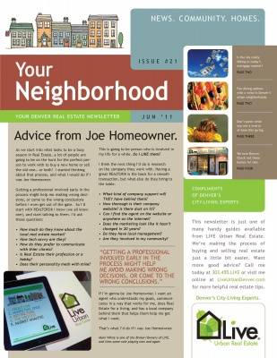 Real Estate Newsletter Mspwreemailnewsletter Which Real Estate
