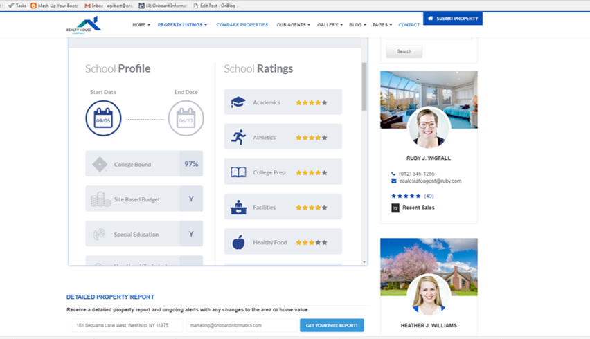 Nav 2.0 School screen shot