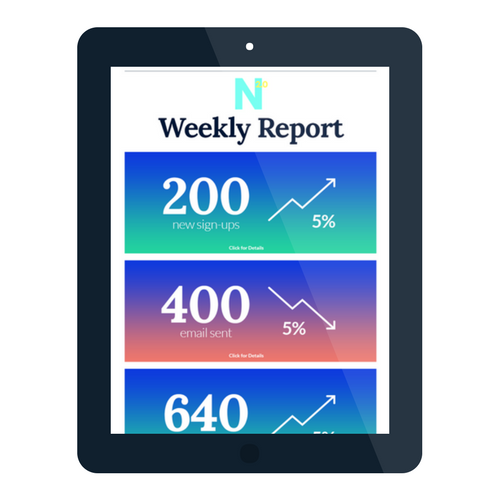 Get Valuable Insight on Every Lead - Get a weekly report on your leads from Nav 2.0.  Find out how many new sign-ups you received every week, who opened their email and who may be likely to make a move.This single tool turns your website into an effective lead capture machine, perfect for any real estate professional.