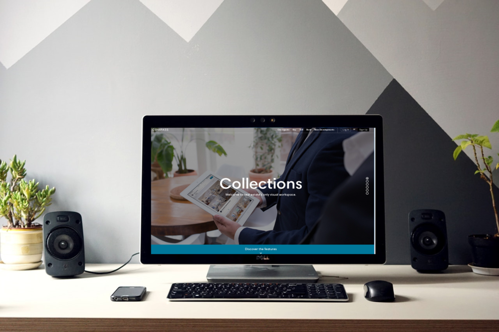 Collections by Compass uses technology to provide a more interactive experience