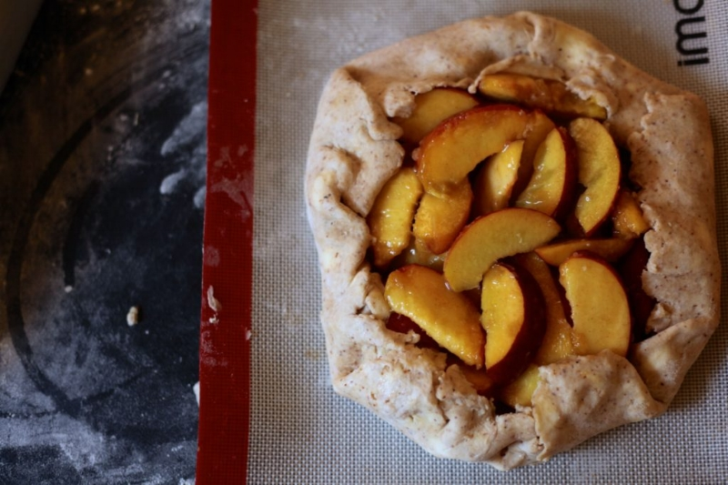 Peach and Ginger Galette 1