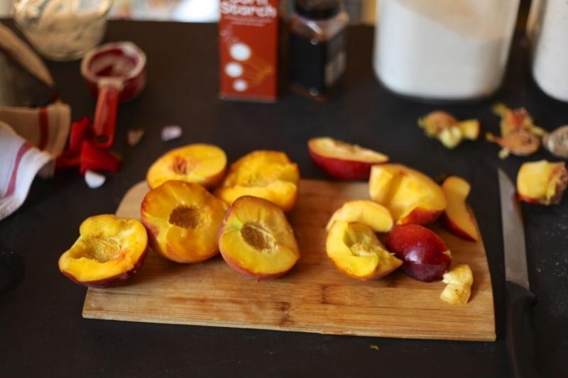 Peach & Ginger Galette 3