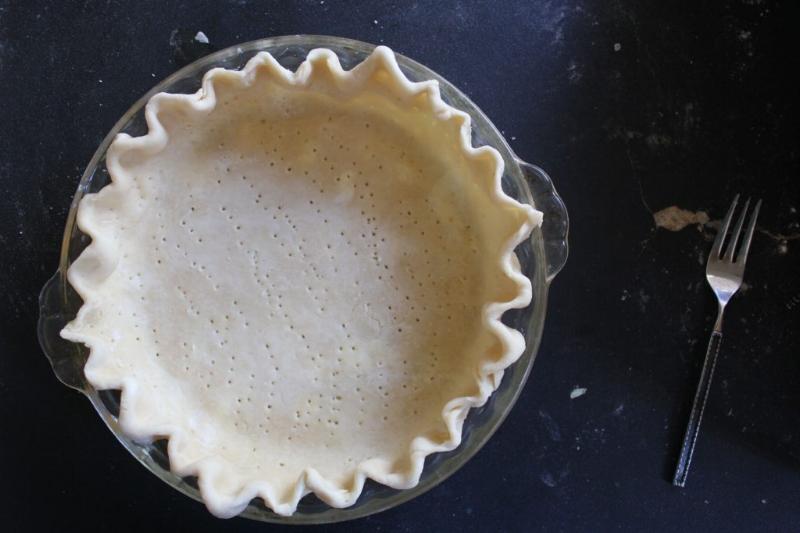 Brown Butter Bourbon Apple Pie_11