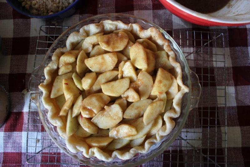 Brown Butter Bourbon Apple Pie_17