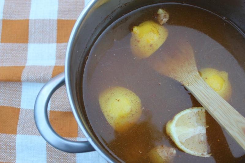 Ginger, Lemon, & Cinnamon Tea_10
