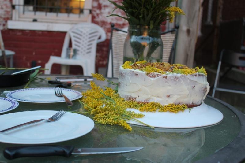 Pistachio Cake + Almond Orange Buttercream_14