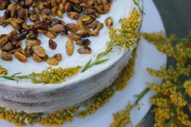 Pistachio Cake + Almond Orange Buttercream_1