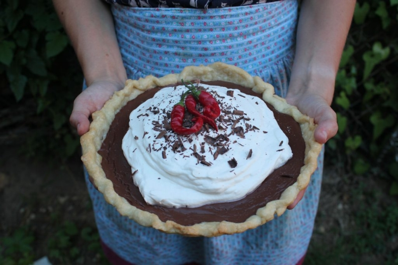Mexican Chocolate Pie_1