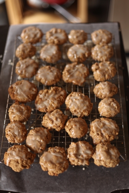 Brown Butter Oatmeal Cookies 8