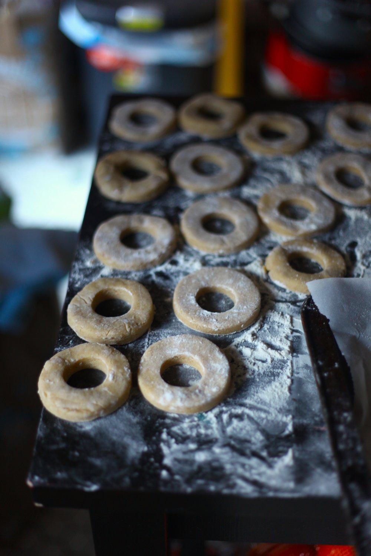 Blood Orange Glazed Buttermilk Donuts 5