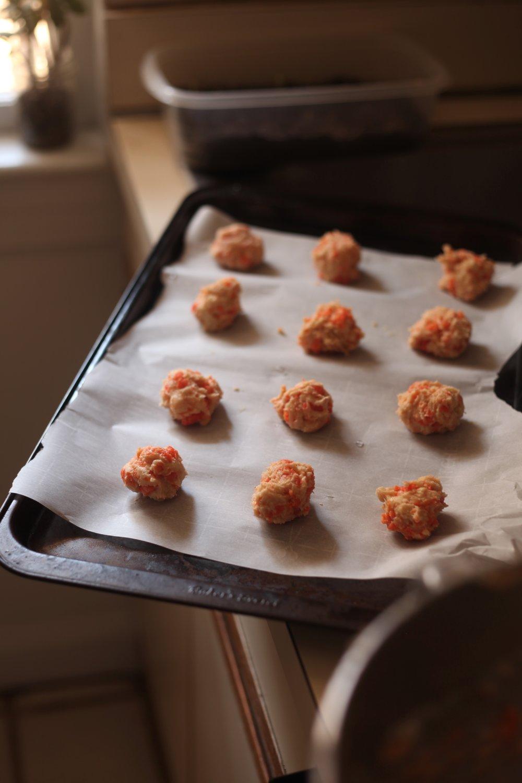 Carrot Cookies 6